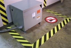OSHA Electrical Panel Floor Marking Compliance