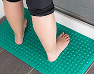 Super Safe Smooth Shower Mat